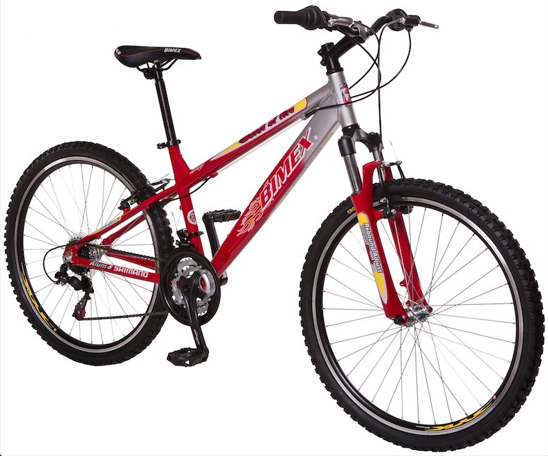 Bicicleta Burst Of Fire r26 Bimex