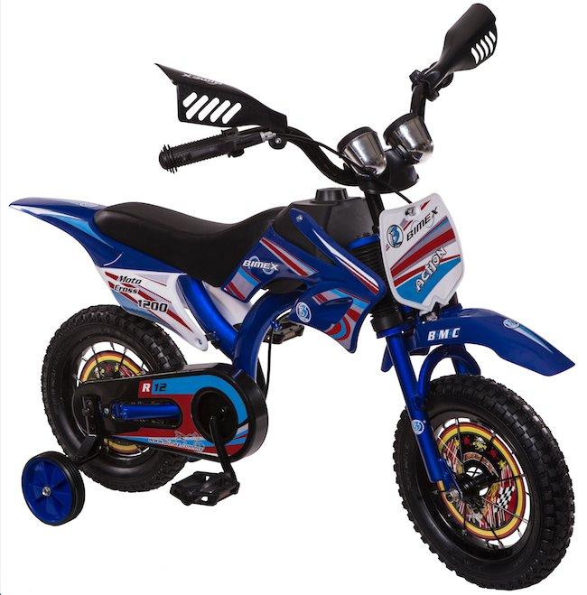 Bicicleta Moto Cross 1200 r12 Bimex
