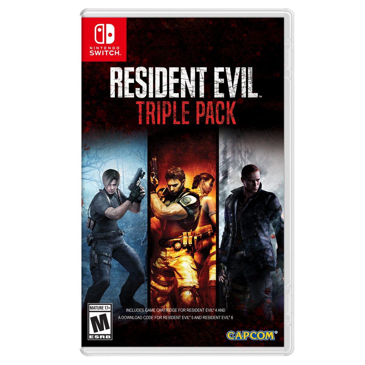 NSW Resident Evil Triple Pack