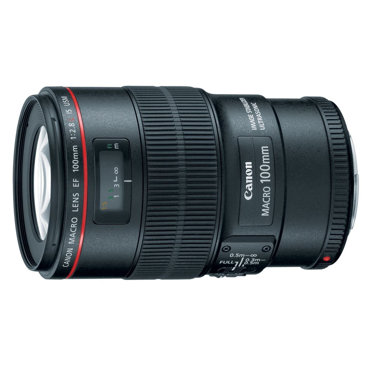 Lente Canon EF100/2.8L Macro IS USM