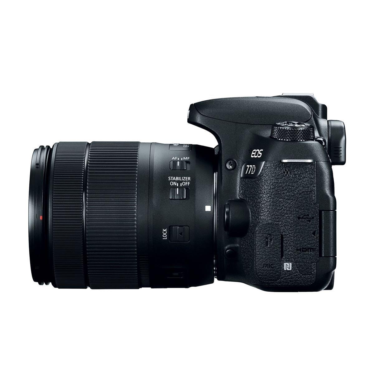 Cámara Canon EOS 77D EF-S 18.135mm