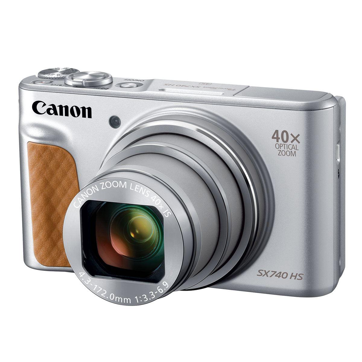 Cámara Power Shot SX740HS Plata Canon