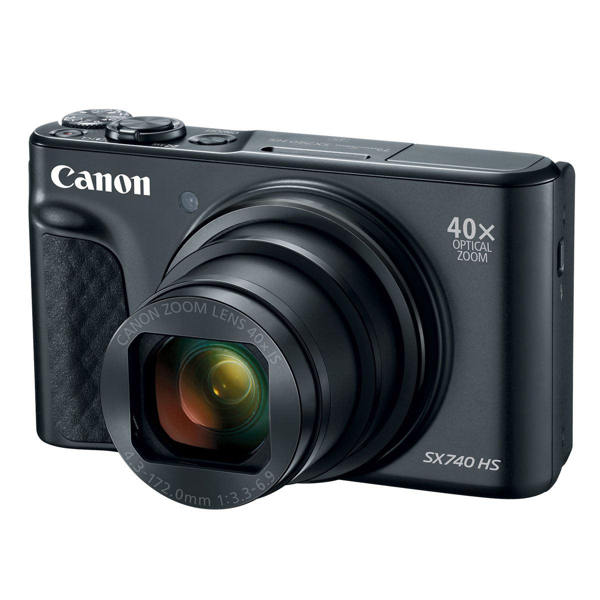 Cámara Power Shot SX740HS Negro Canon