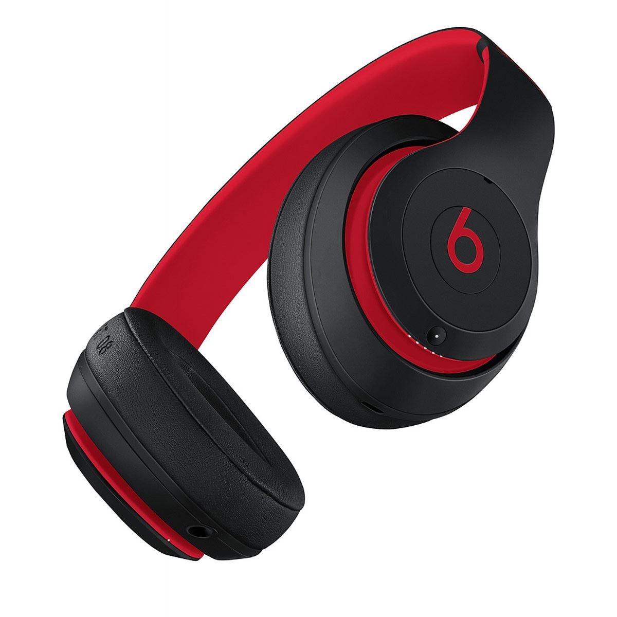Audífonos Studio3 Wl Negro-Rojo Beats