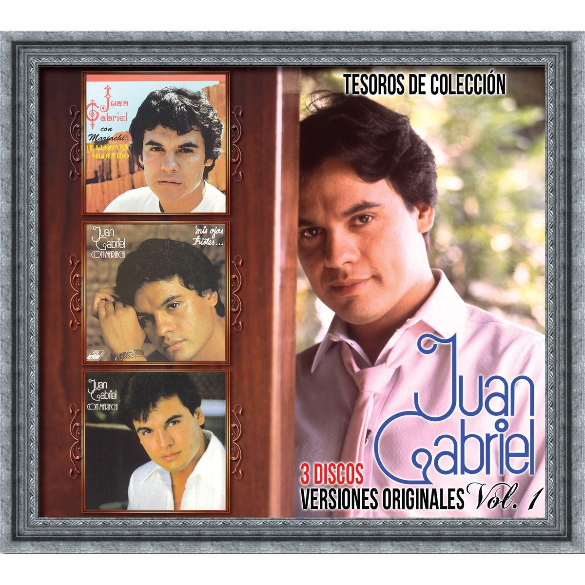 3CD Juan Gabriel-Tesoros de Colección