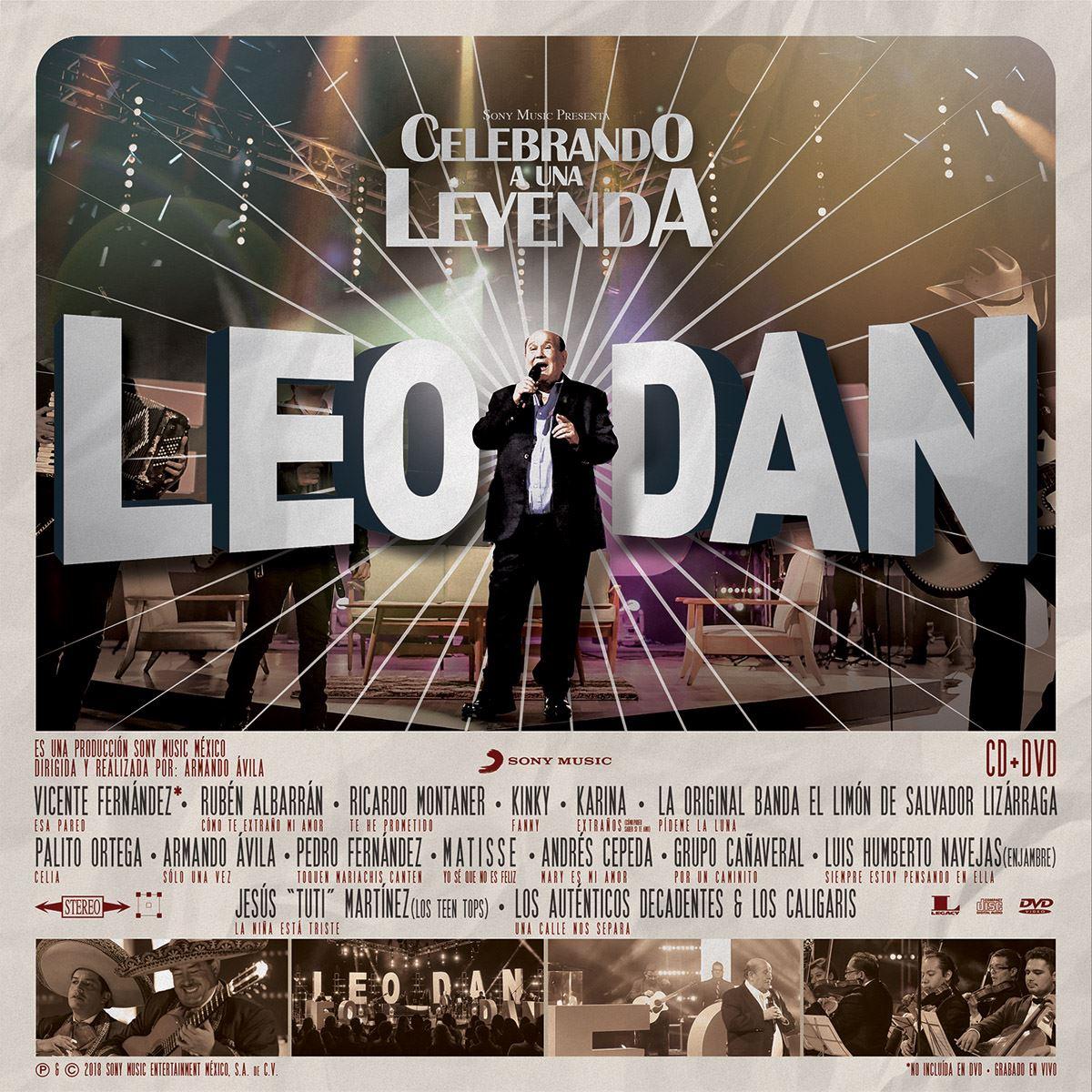 CD+ DVD Leo Dan-Celebrando a una Leyenda (En Vivo)