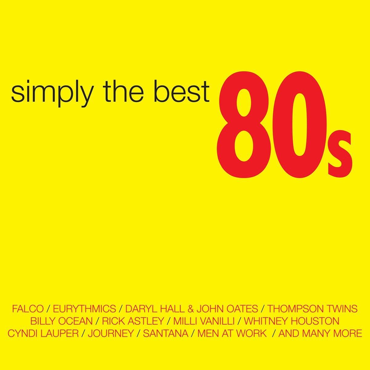 CD2/DVD Varios Simply The Best 80s