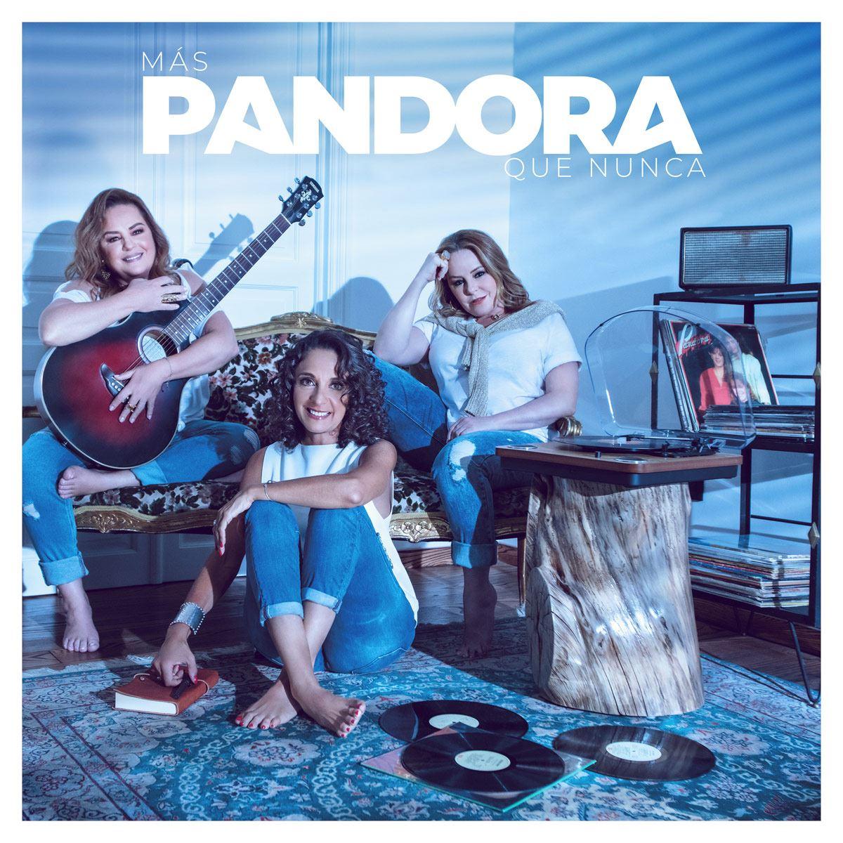 CD/DVD Pandora- Más Pandora Que Nunca