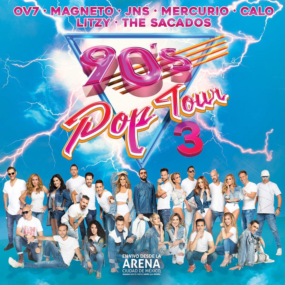 CD2+ DVD Varios- 90'S Pop Tour 3
