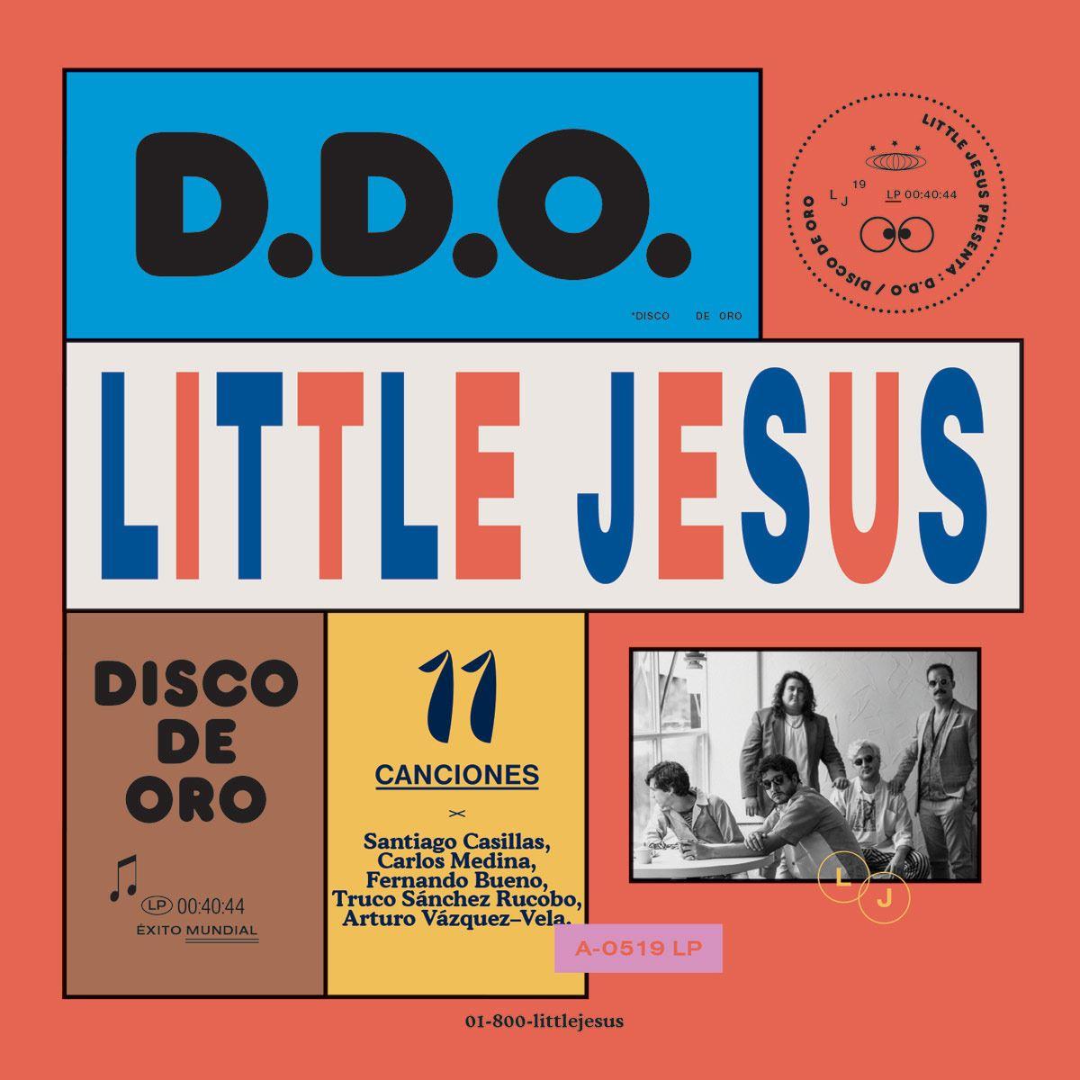 CD Little Jesus- Disco de Oro