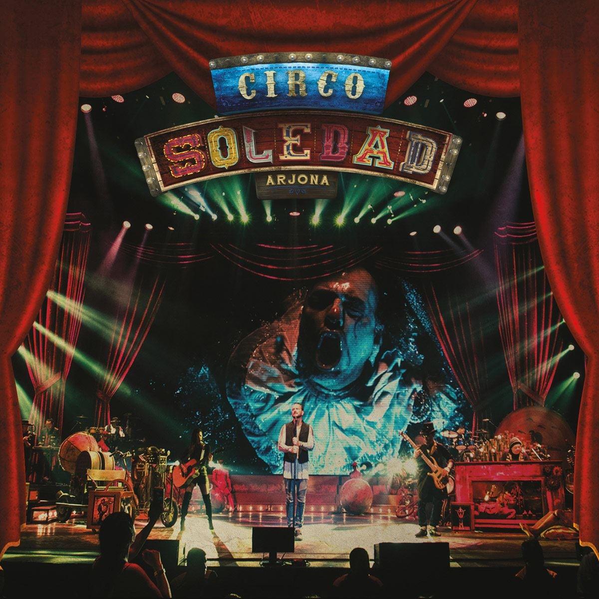 CD2 + DVD Ricardo Arjona - Circo Soledad