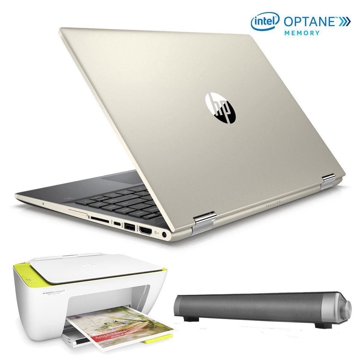Bundle Laptop 14-CD0009LMLASS HP