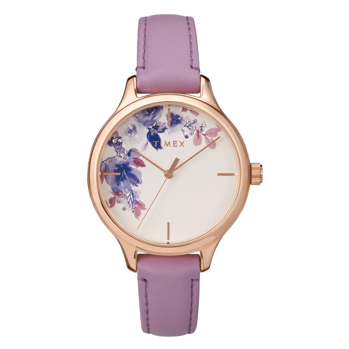 Reloj para Dama Timex Rosa y Blanco