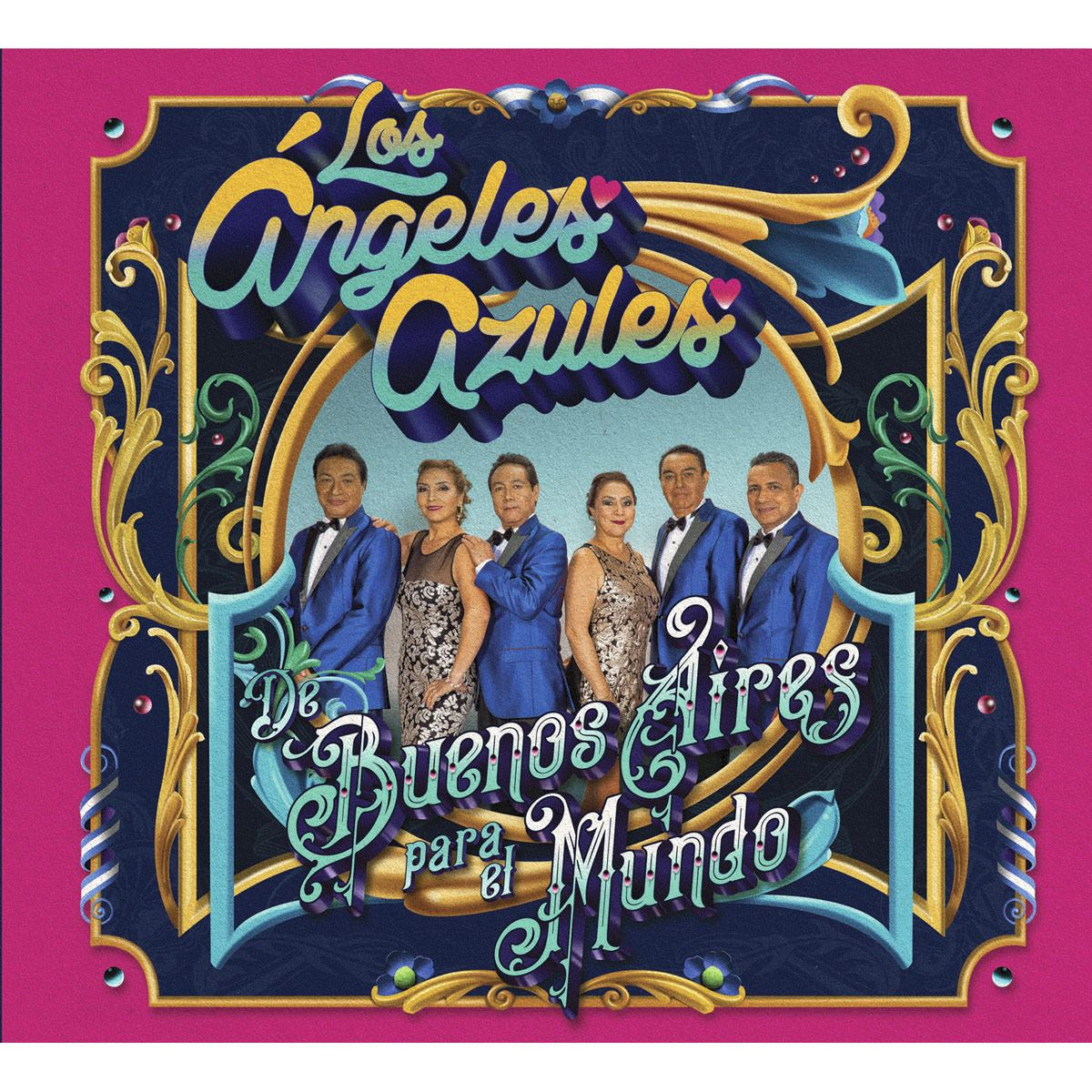 CD+DVD Los Ángeles Azules - De Buenos Aires Para El Mundo