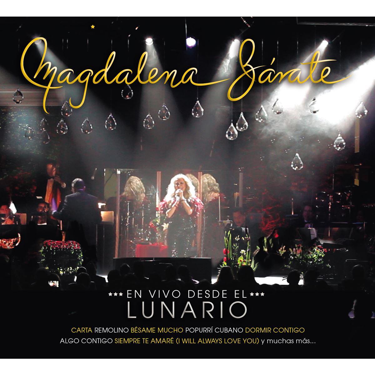 CD/DVD Magdalena Zárate en Vivo  desde el Lunario