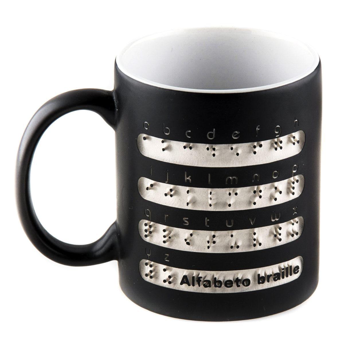 Taza alfabeto braille SG Promocionales