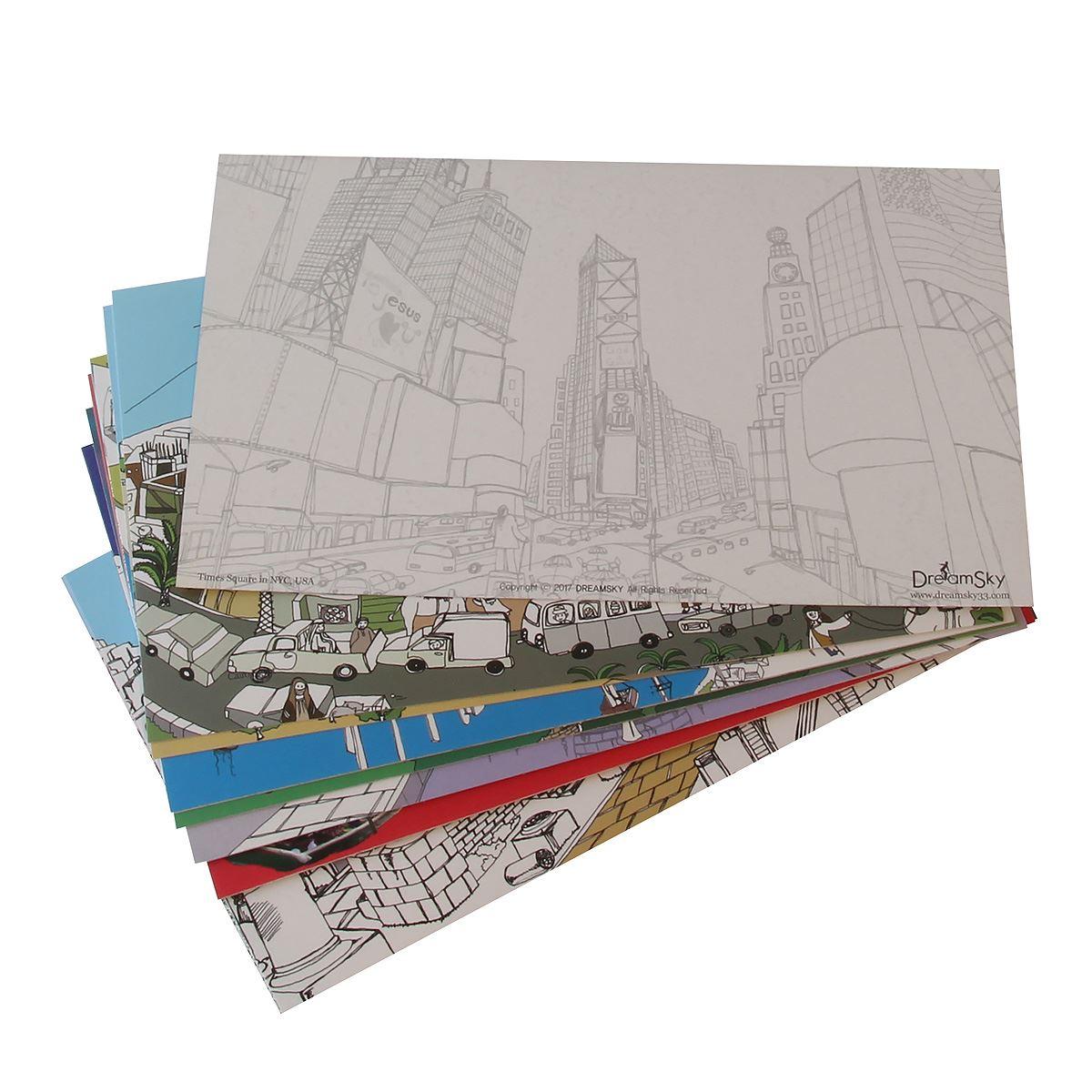 Set postales de viaje Dream Heaven