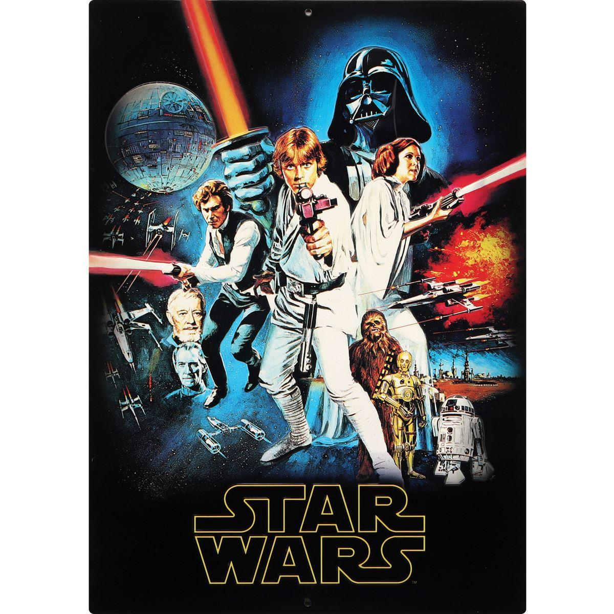 Placa de adorno star wars original