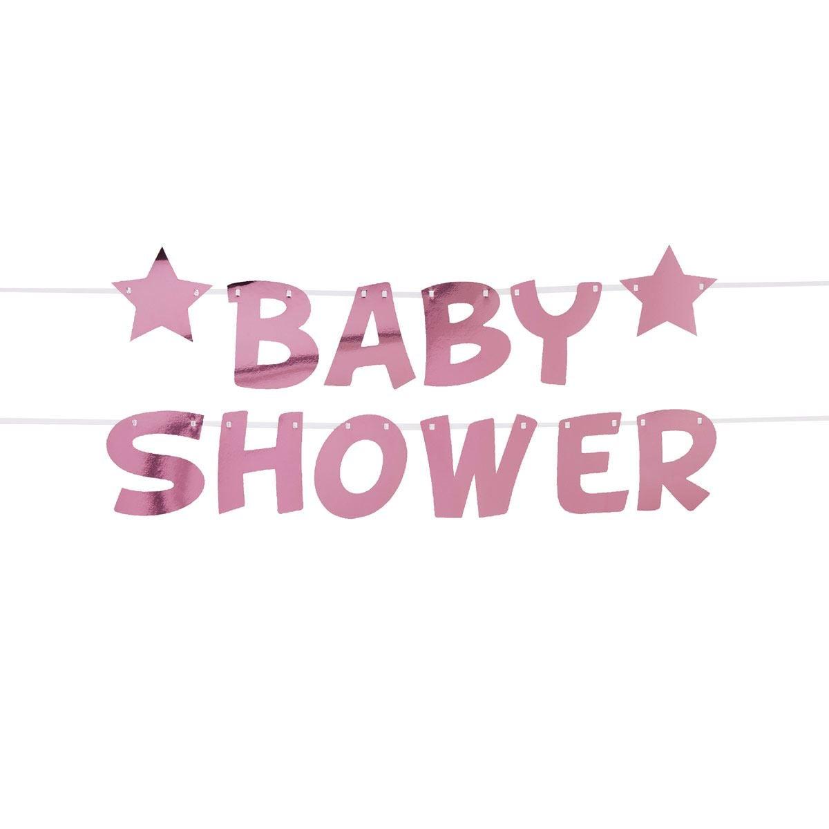 Guirnalda para Baby shower Niña