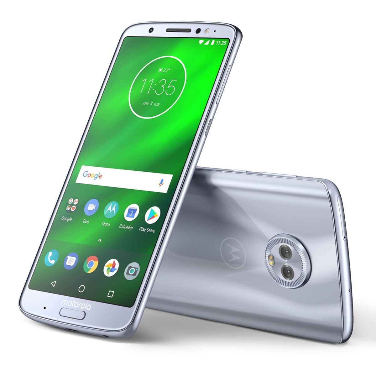 Celular Moto G6 Plus XT1926-6 Azul Nimbus R9 (Telcel)
