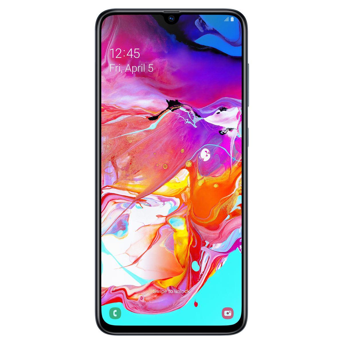 Celular Samsung A705 Galaxy A70 Color Negro R9 (Telcel)