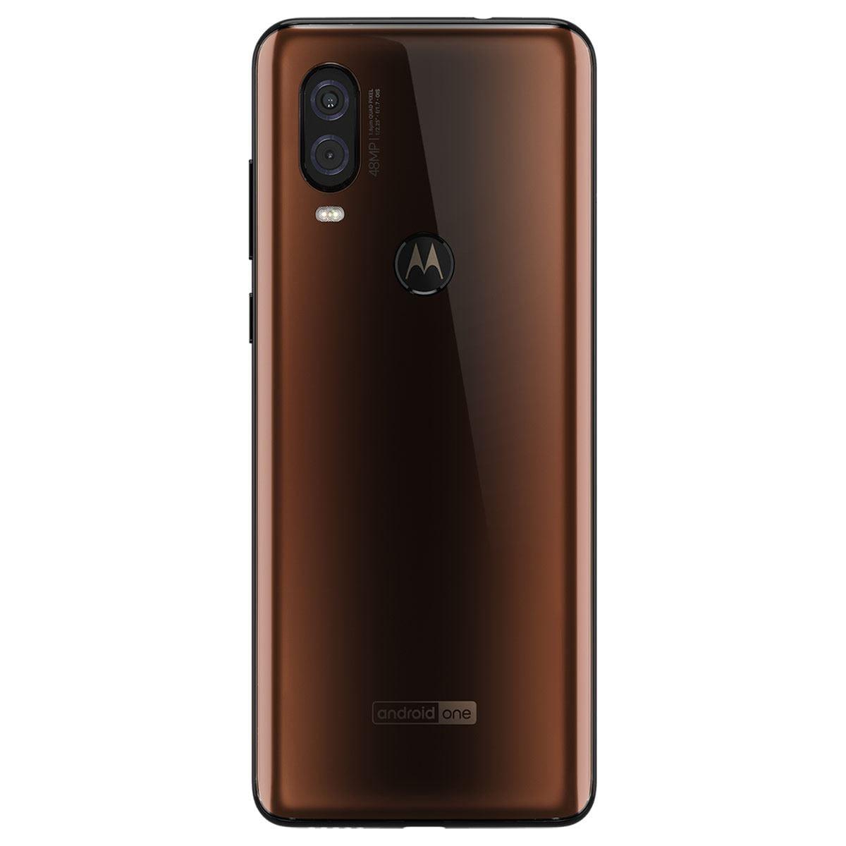 Motorola One Vision 128GB Moka Telcel R9