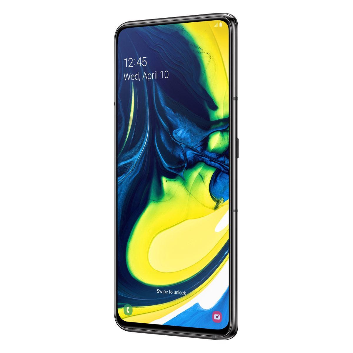 Celular Samsung Galaxy A80 Color Negro R9 (Telcel)