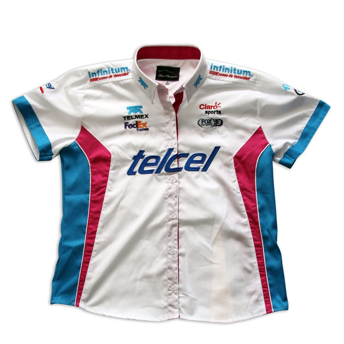 Camisa Pole Position Escuderia Telmex-Telcel Dama 2019 mediana