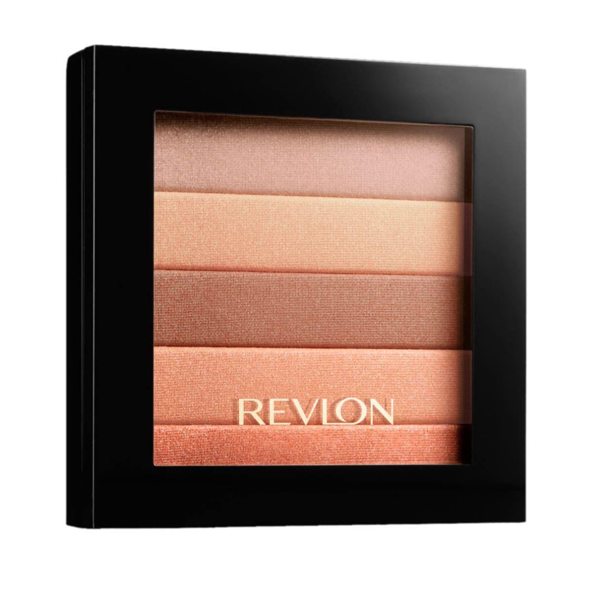 Rubor Highlighting Palette Peach Glow Revlon