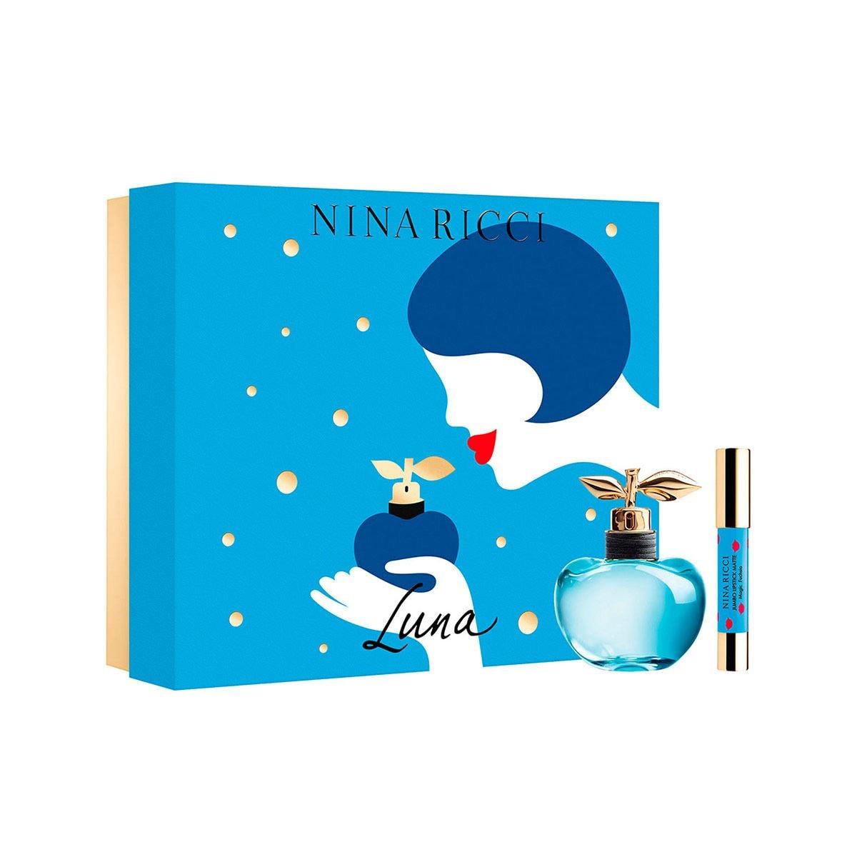 Set para Dama Nina Ricci Les Belles de Nina Luna EDT 80 ml + Bodylotion 100 ml