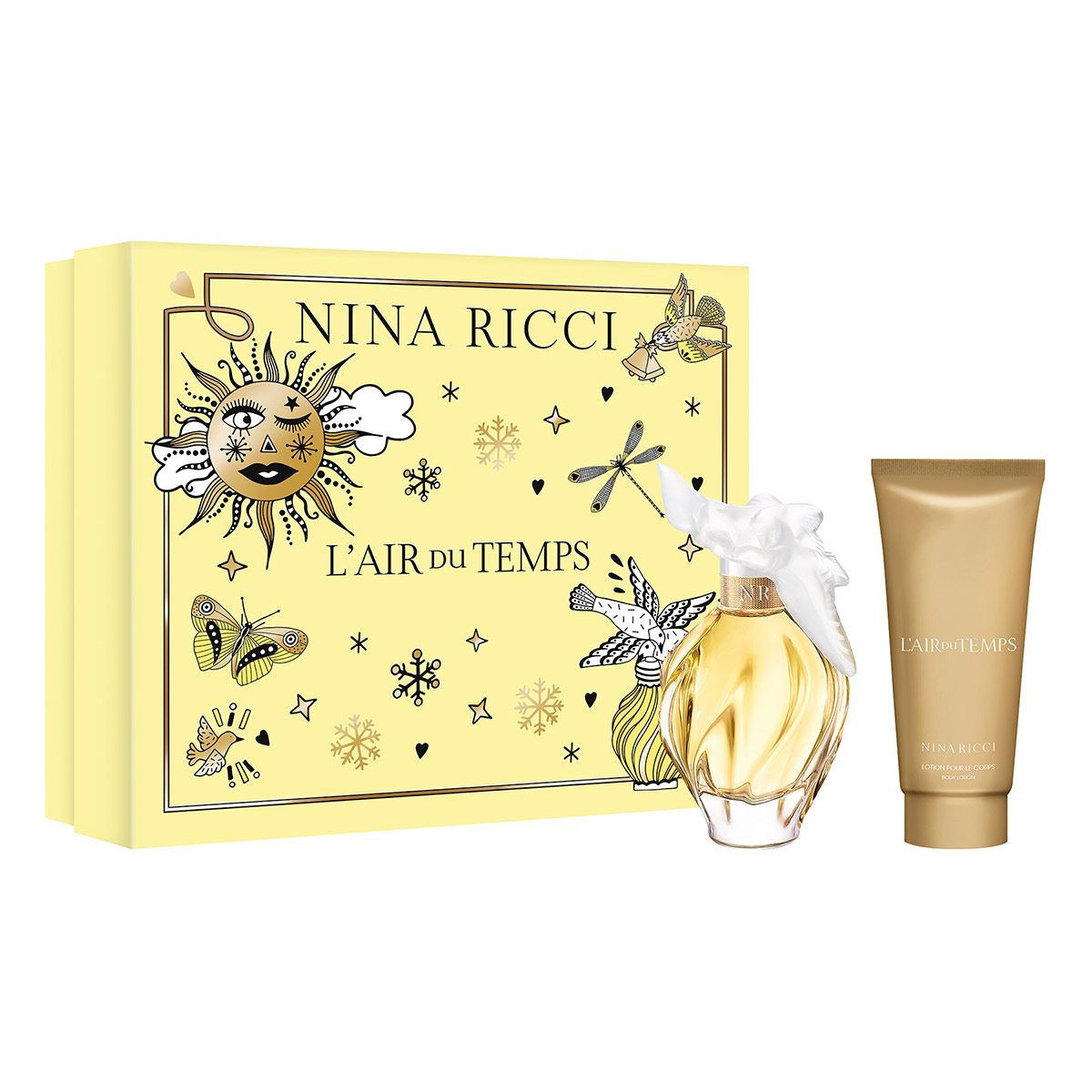 Set para dama, Nina Ricci, Air du temps, EDT 100ML + Body lotion 100ML
