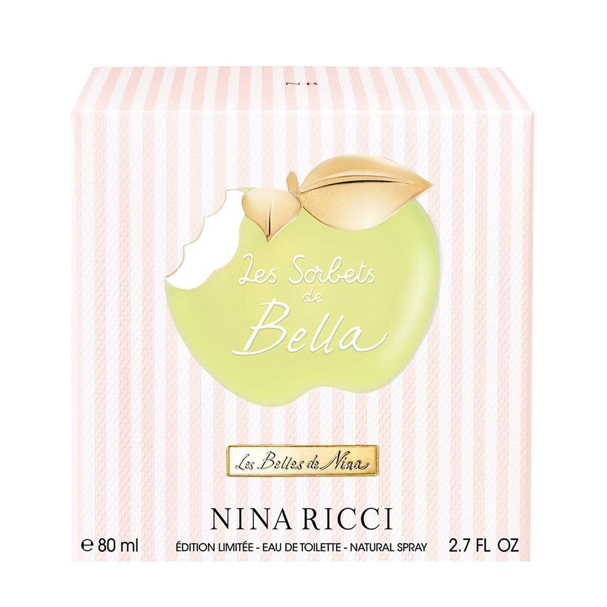 Fragancia para Dama, Nina Ricci Les Sorbets de Bella EDT 80ML
