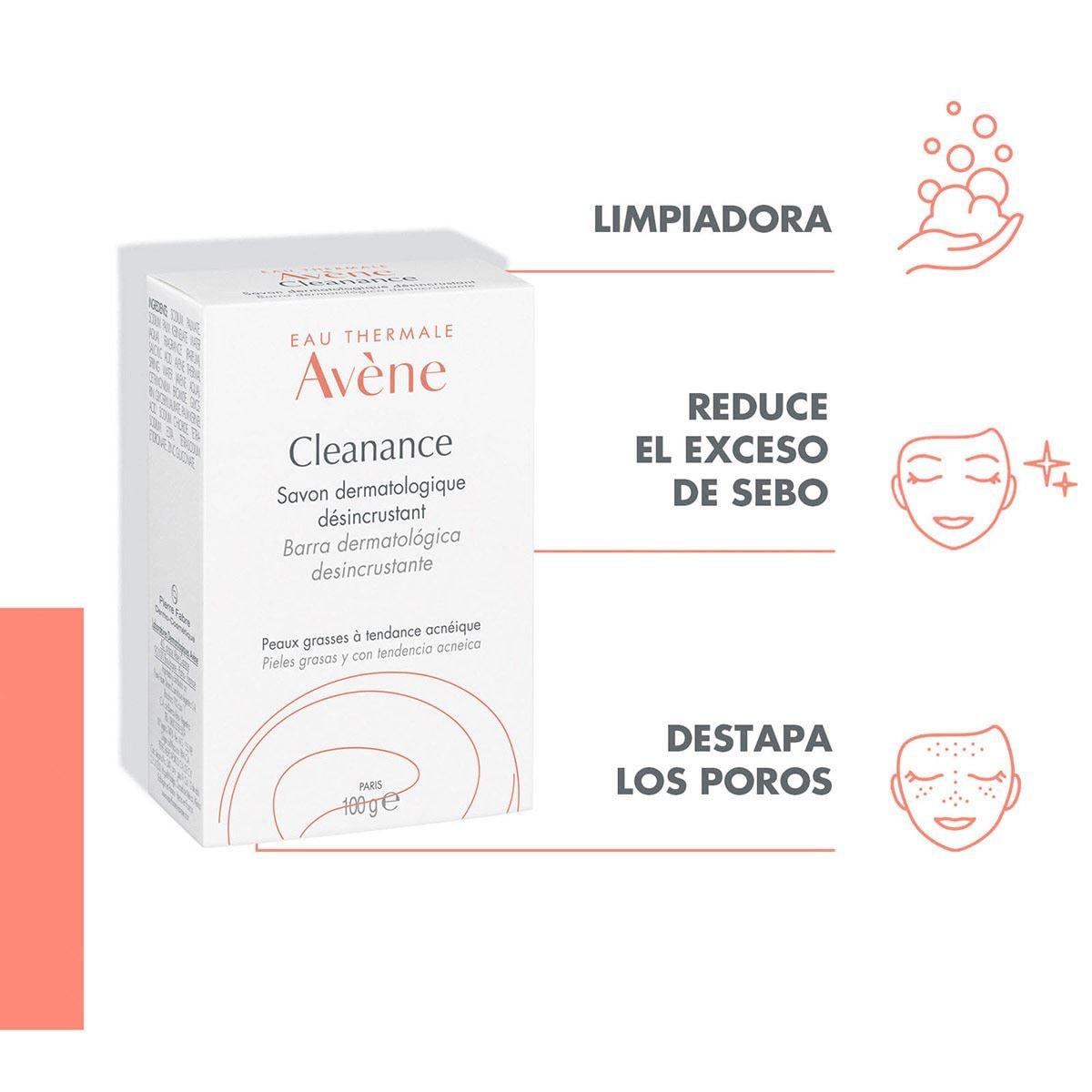 Jabón para Piel con Tendencia Acnéica Avène Cleanance