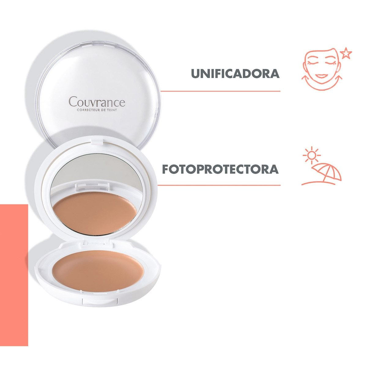 Maquillaje Corrector Crema  Arena Avène Couvrance