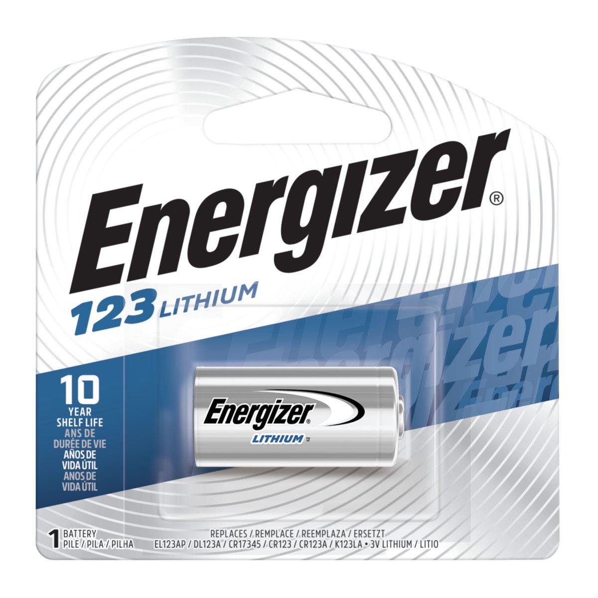 Pila Energizer 123-1