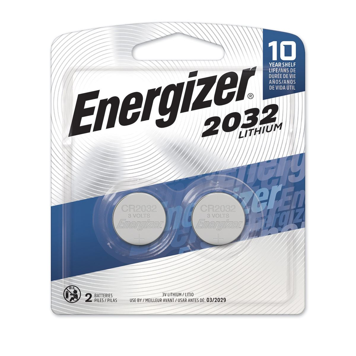 Pila Energizer 2032 Litio BP2 C/2