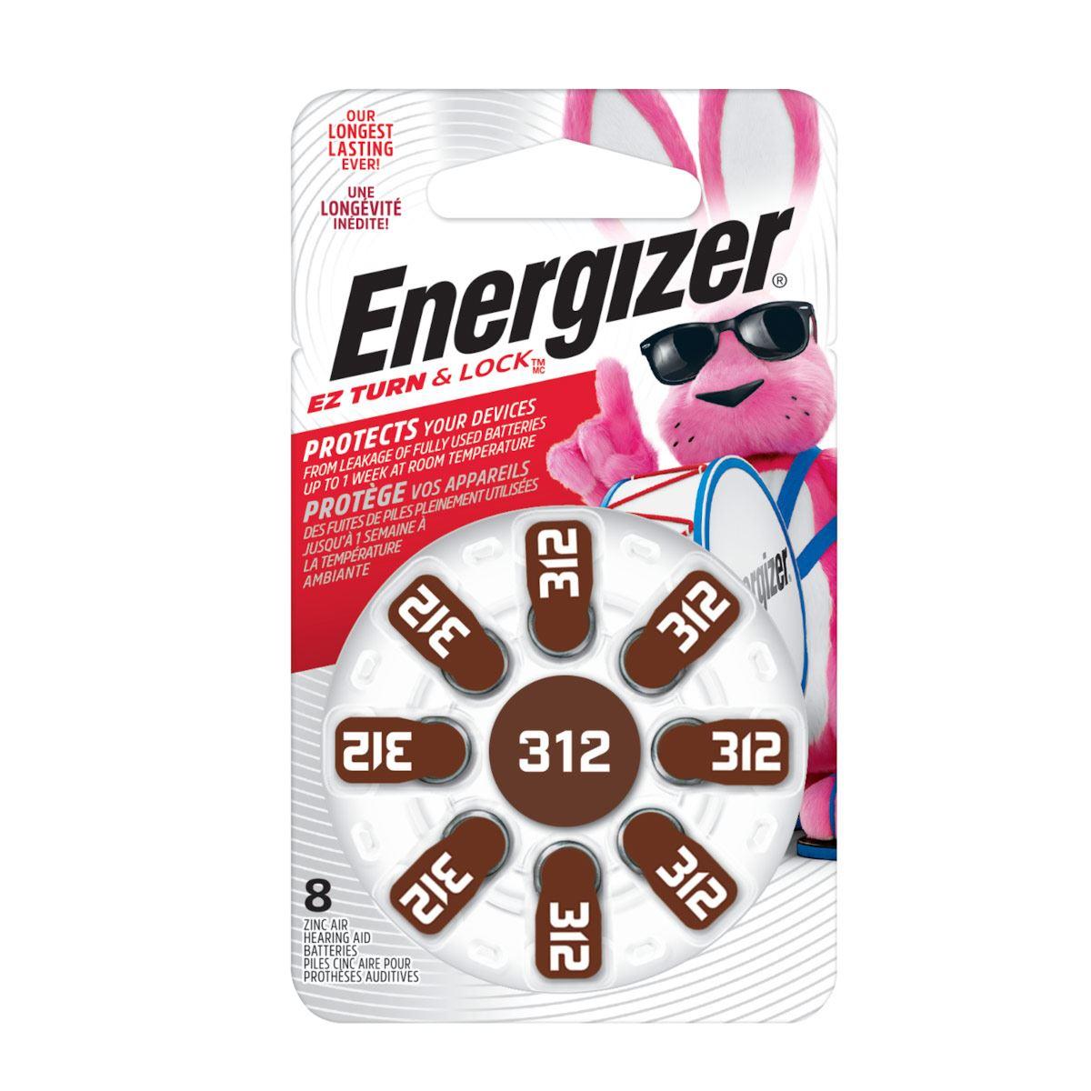 Pila Ha 312 Energizer P 8