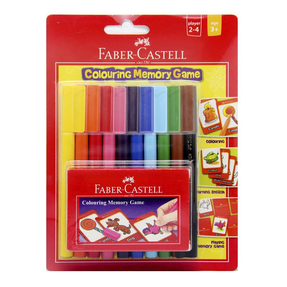 Juego de memoria Faber Castell