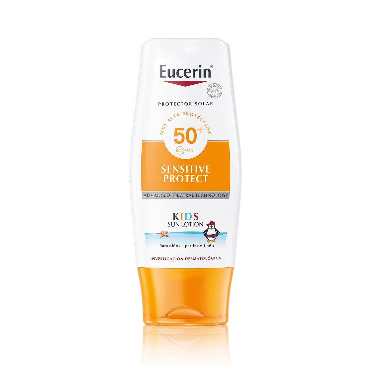 Eucerin Sun, Protector Solar Para Niños FPS50+, 150ml