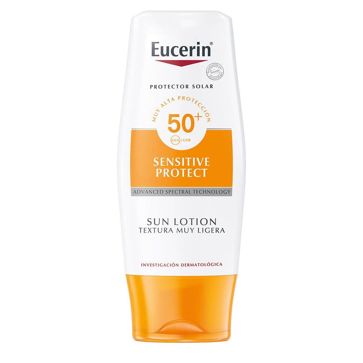Eucerin Sun, Protector Solar Sensación Extra Ligera FPS 50, 50ml
