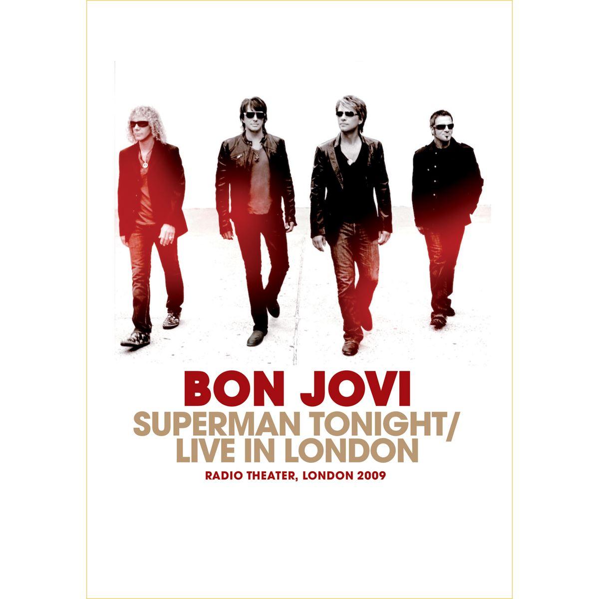 DVD Bon Jovi-Super Man Tonigth / Live In London