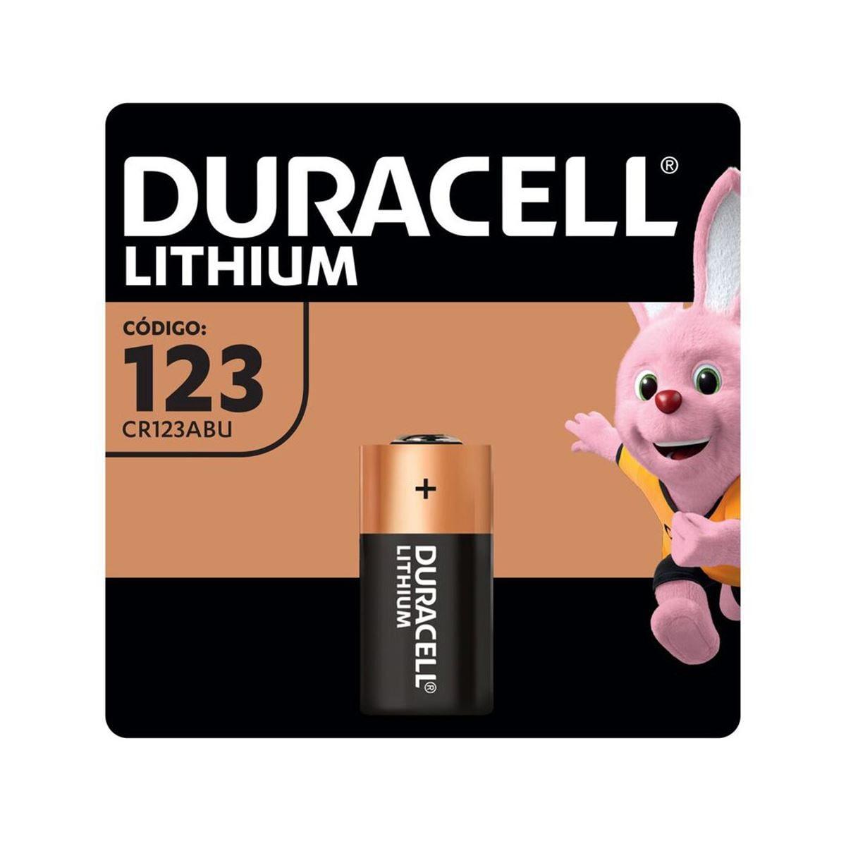 Pila Duracell 123 C/1 PZA Lithium