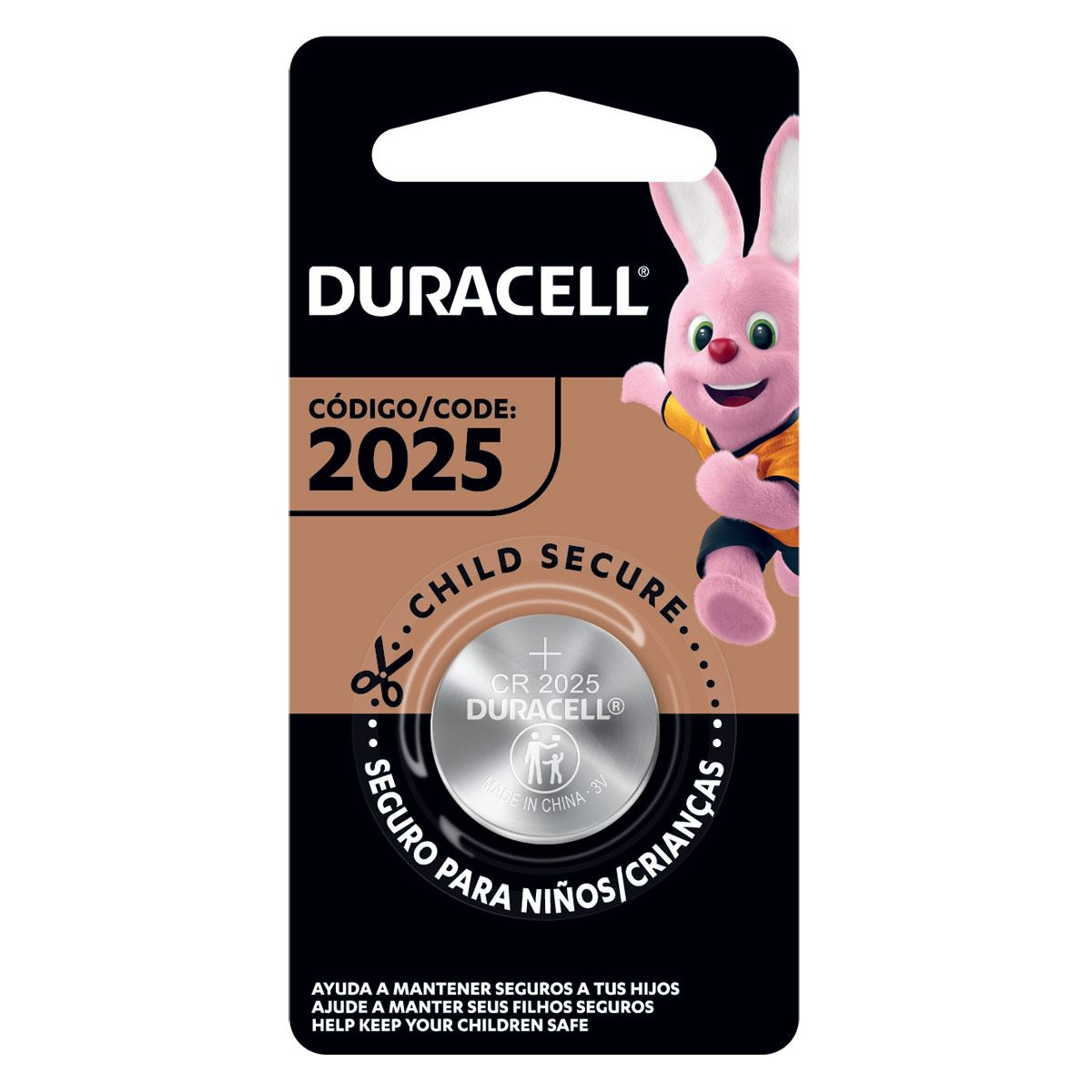 Pila Duracell 2025 C/1 PZA Lithium
