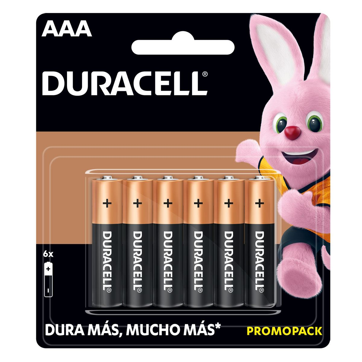 Pila Duracell AAA C/6 4BC 48CS BP6