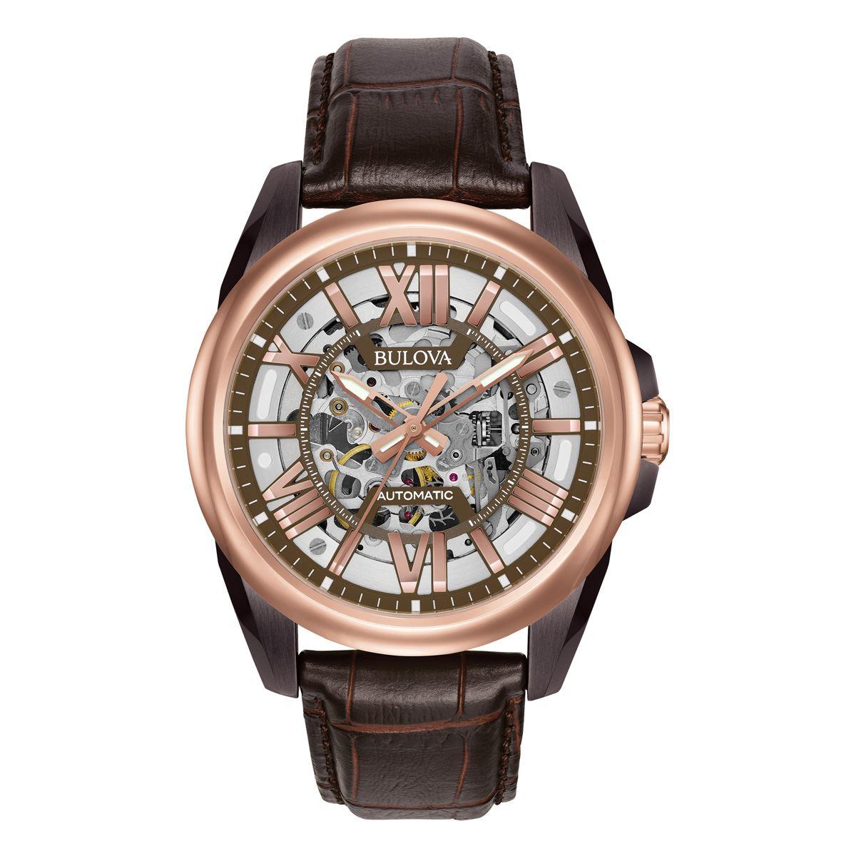 Reloj Bulova Mecánico de Cuerda Automática para Caballero 98A165