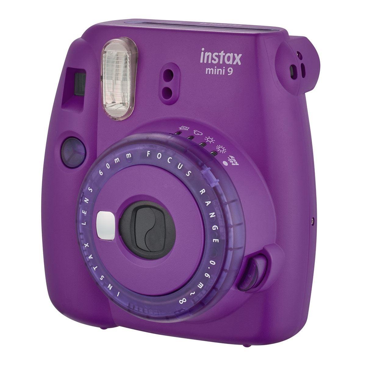 Cámara Fuji Instax Mini 9 Púrpura