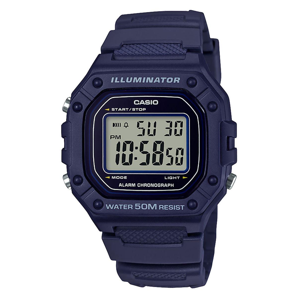 Reloj Casio W-218H-2AVCF Unisex