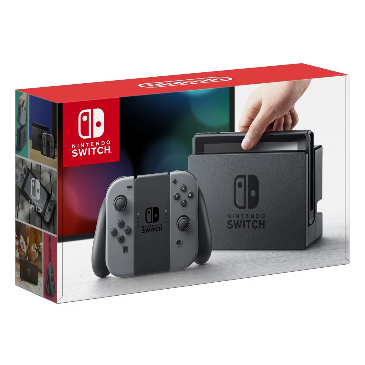 Consola Nintendo Switch Gris
