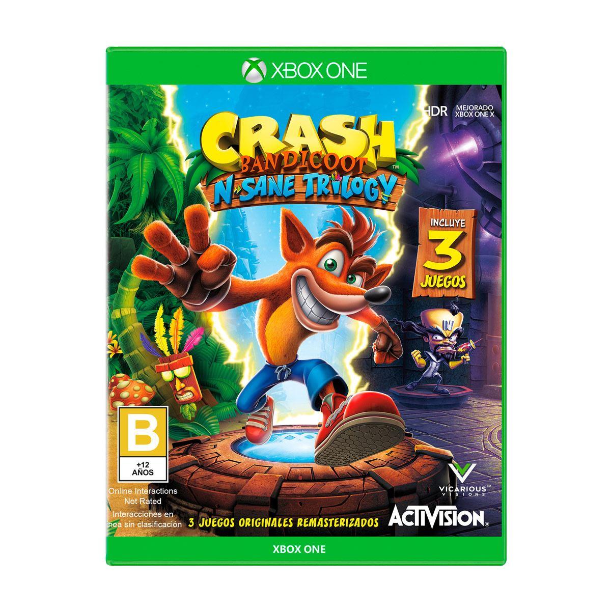 Xbox One Crash Bandicoot Trilogy