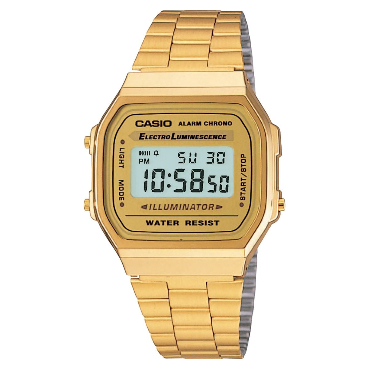 Unisex Vintage Reloj Casio A168wg 9vt kOiTXZuwP